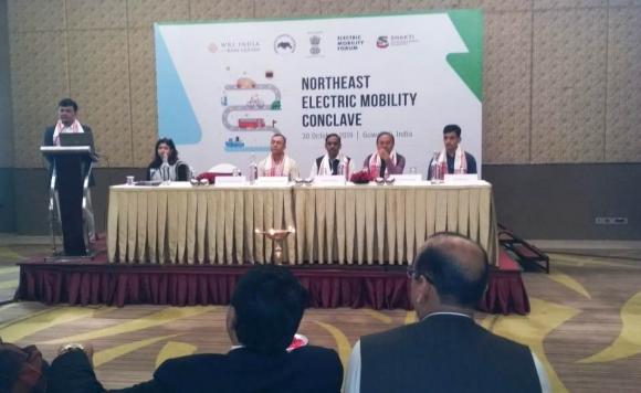 North East Electric Mobility Conclave Held on 30th October, 2019, Guwahati.